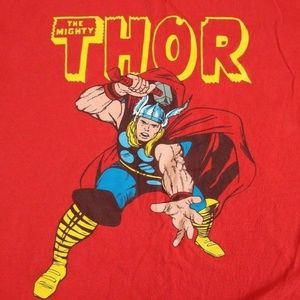 Marvel The Mighty Thor Graphic T-Shirt Mens 2XL